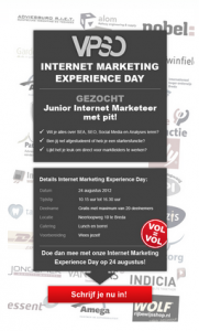 Vacature omschrijving